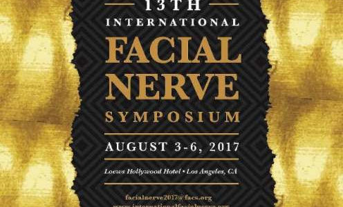 Gertrud was aanwezig op het 13e Facial Nerve Symposium in Los Angeles