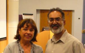 Professor Sadiq and Gertrud Augenbroe