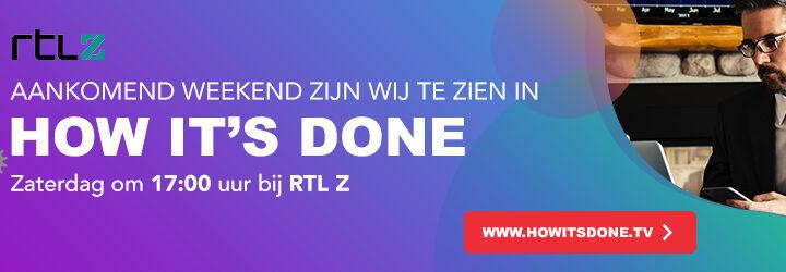 Wij zijn zaterdag 2 oktober 2021 om 17:00 bij RTL-Z te zien